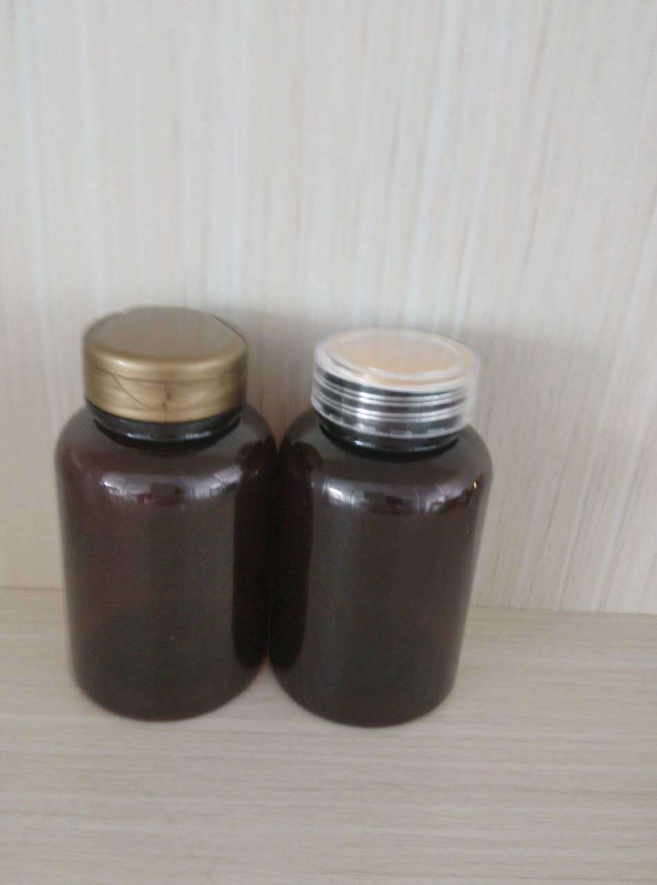 Flip-Top Cap Pet Bottle for Health Care Medicine Plastic Packaging