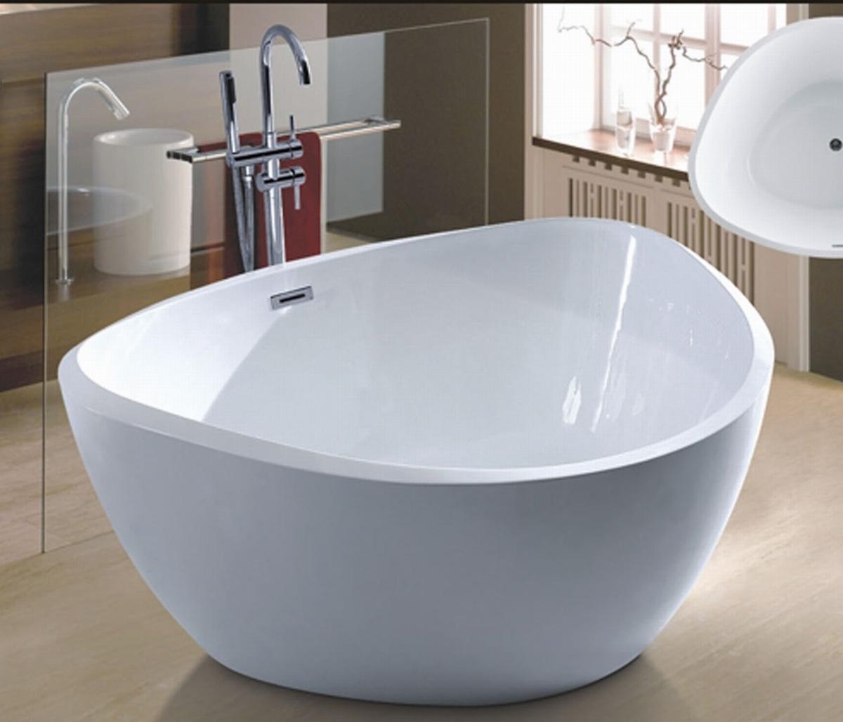 China New Triangle Freestanding Bathtub SPA for Villa (AT-6020 ...
