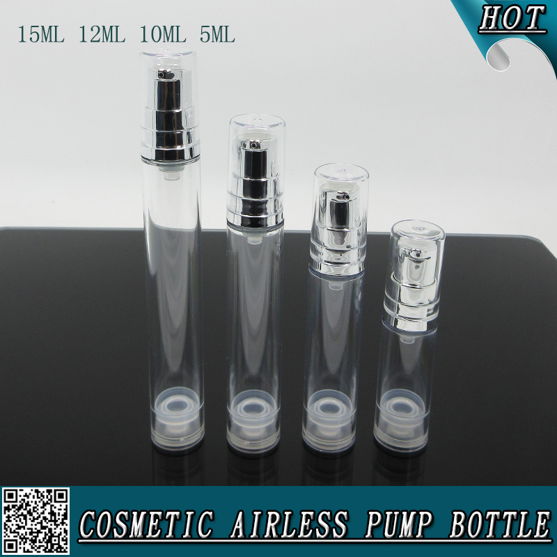 94aa55121f26 [Hot Item] Cosmetic Clear Plastic Refillable Spray Bottle with Hozzle