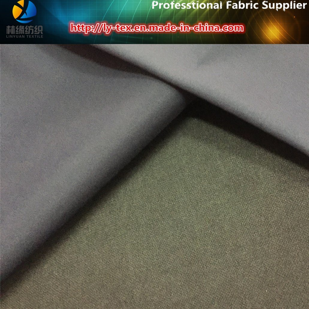 Polyester T400 Stretch Compund Fabric for Suit Pants pictures & photos