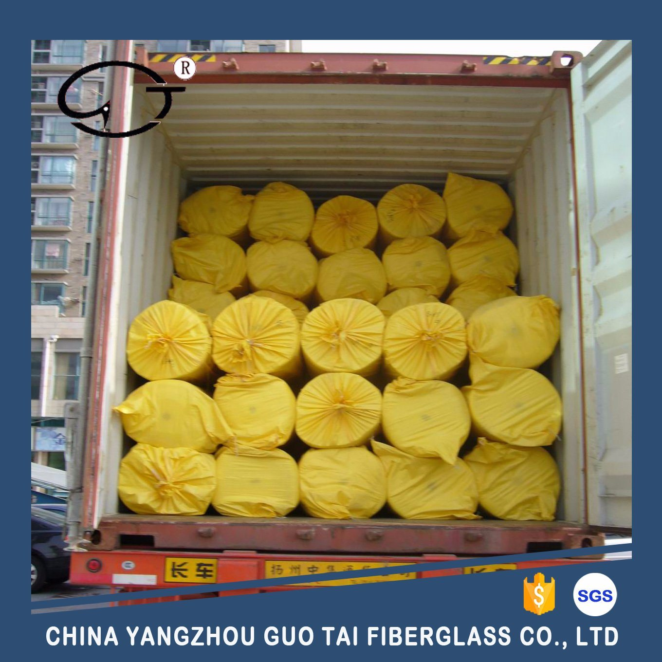 High Tensile Strength Fiberglass Reinforced Needle Mat pictures & photos