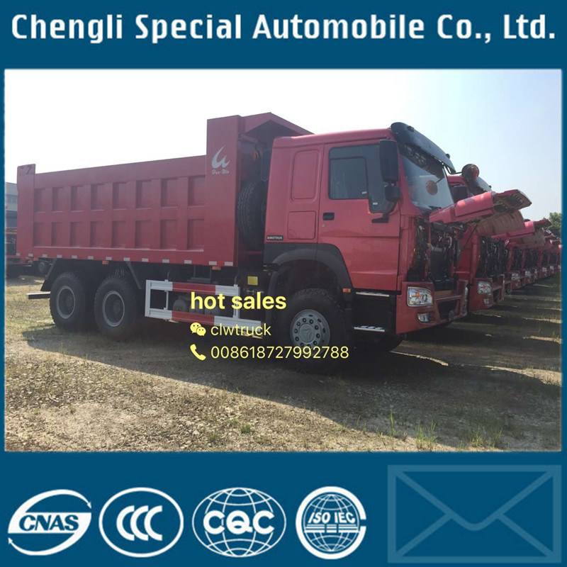 New Face Sinotruk 30tons HOWO Heavy Tipper Truck