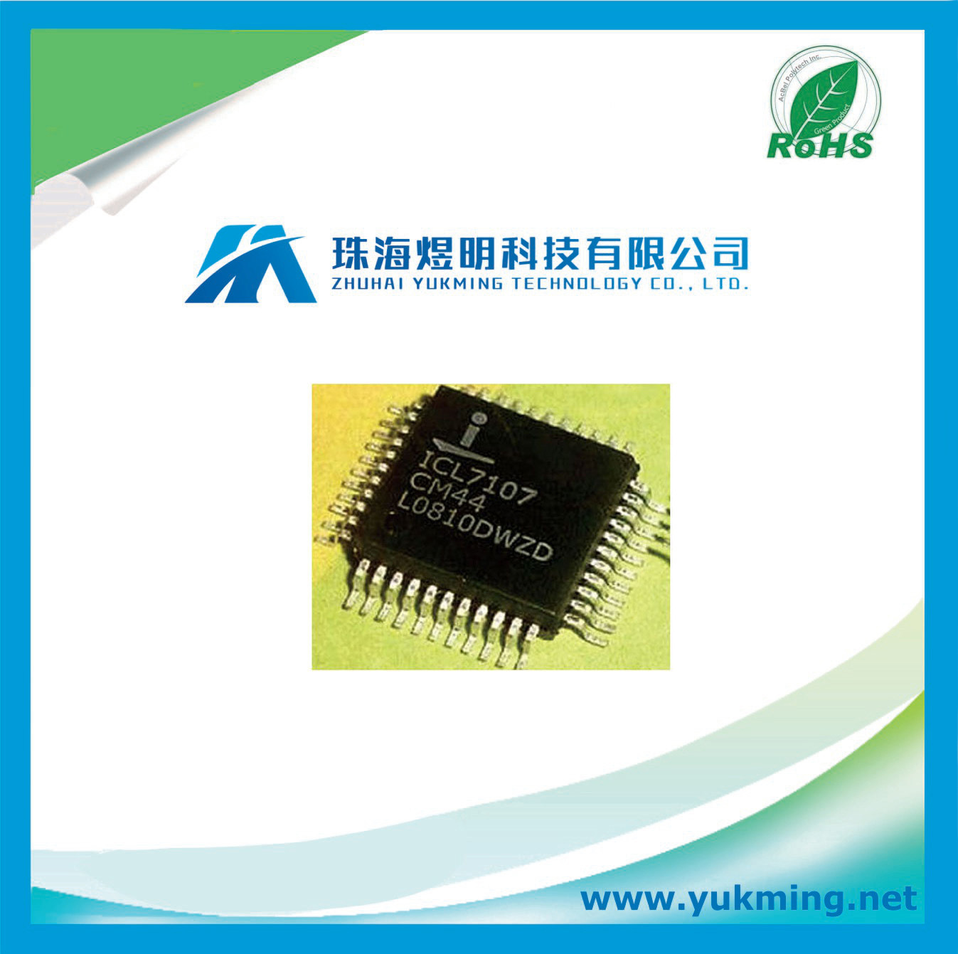 China Led Driver Ic Icl7107cm44 Integrated Circuit For