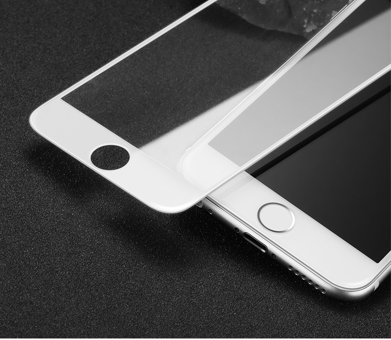 3D Curved Soft Round Carbon Fiber Full Cover Screen Protector for iPhone 7 Plus