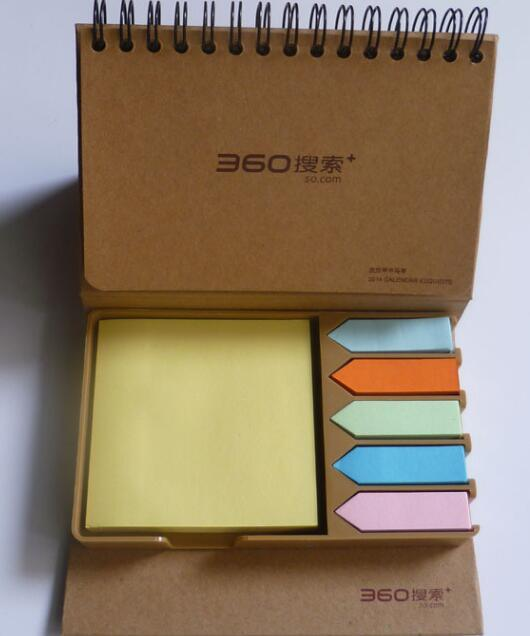 Colorful Sticky Paper Memo Holder in PU Box pictures & photos