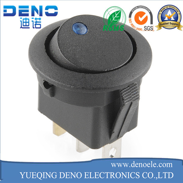 Automotive Round Black Kcd1 106 Rocker Switch pictures & photos