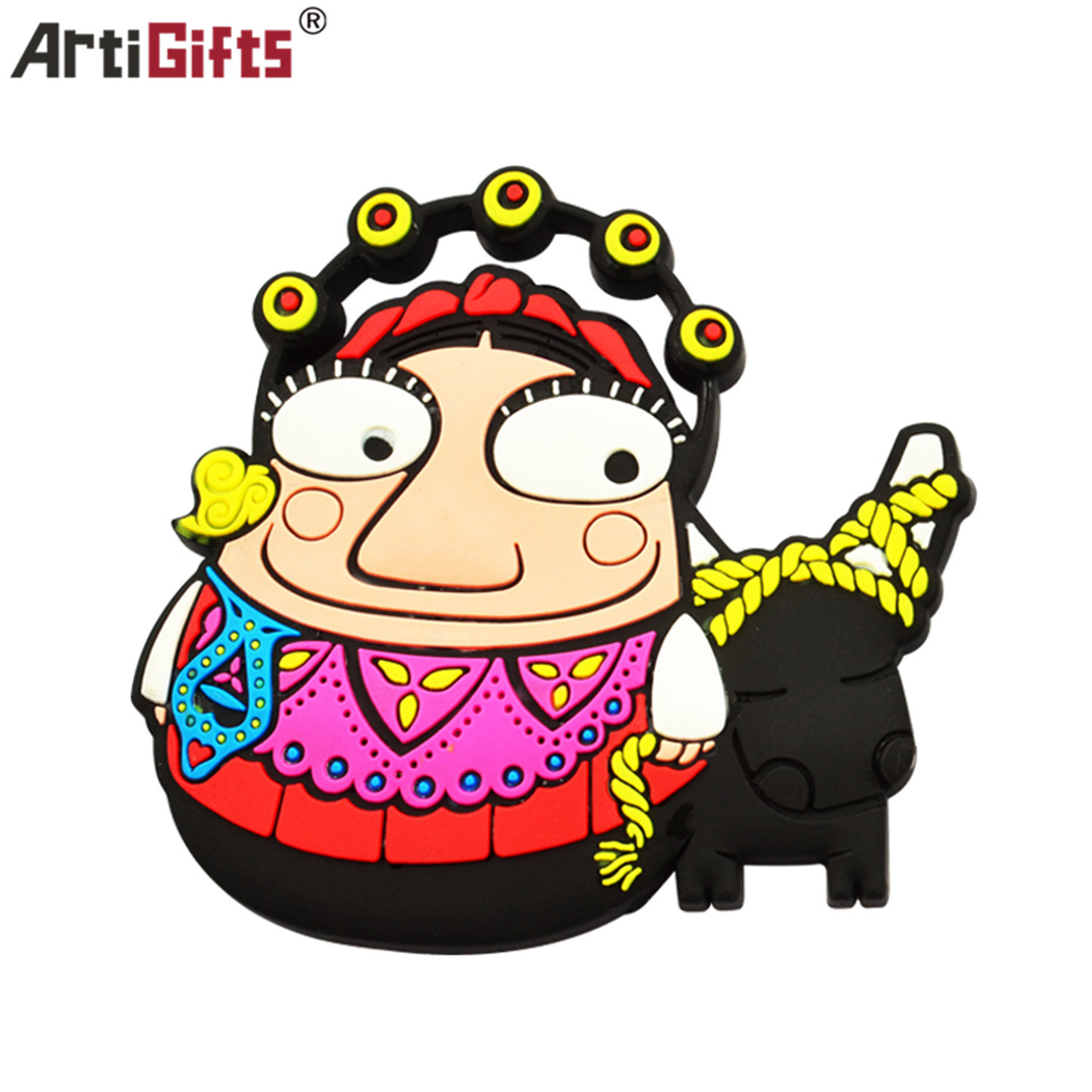 High Quality Fashion Cartoon Character PVC Fridge Magnet pictures & photos