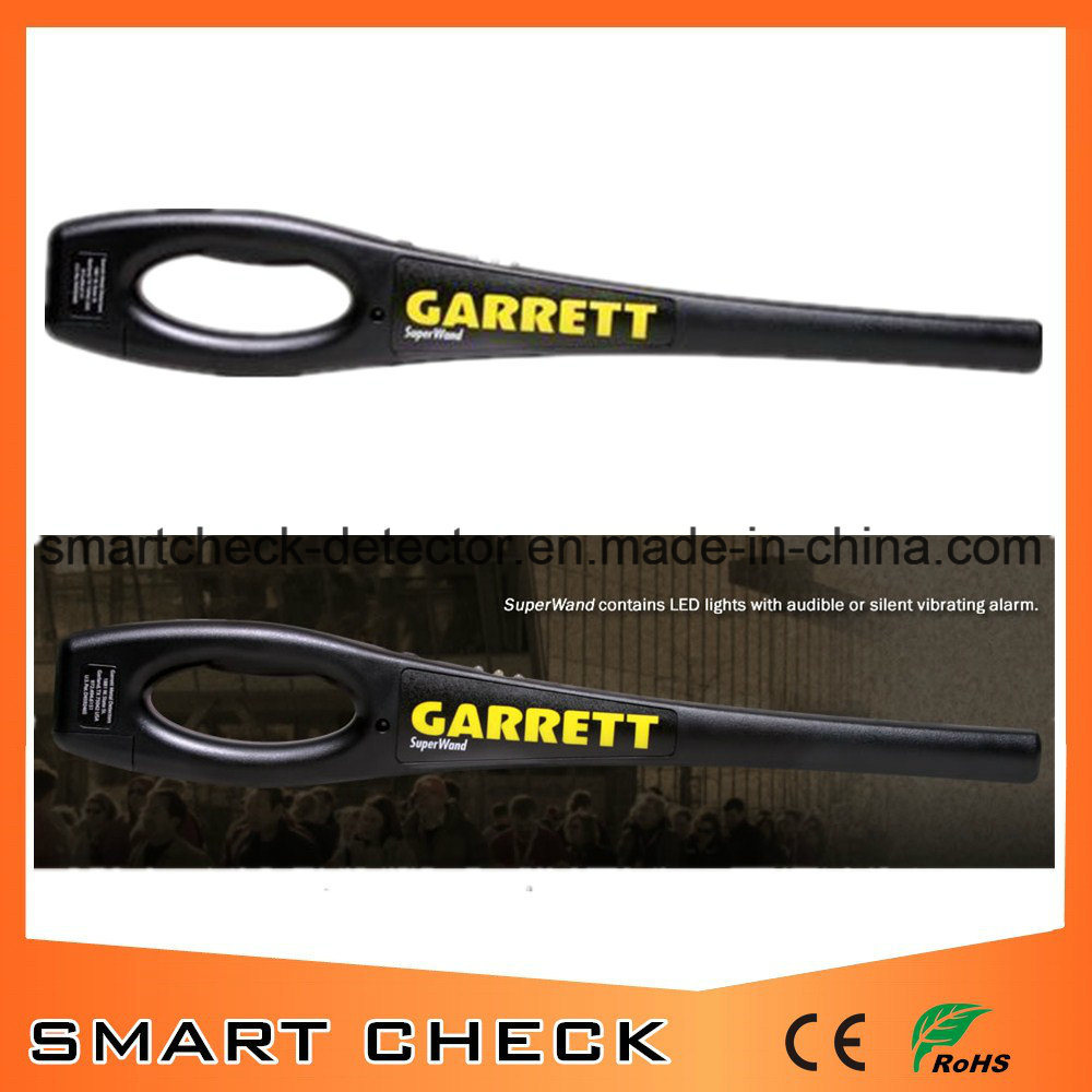 Superwand Hand Held Metal Detector Security Metal Detector