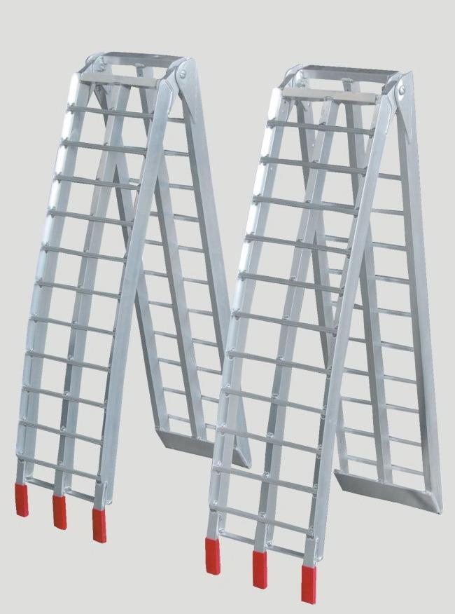 Aluminum Folding Ramps >> Hot Item Ar07m Arched Aluminum Folding Ramp