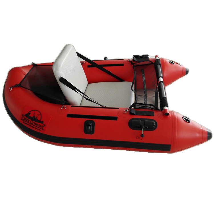 [Hot Item] One Person Inflatable Belly Fishing Boat for Sale
