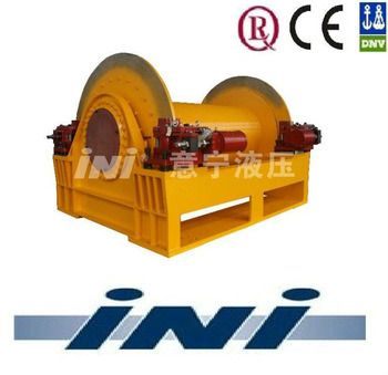 Ini 600kn Marine Winch with Caliper Brake