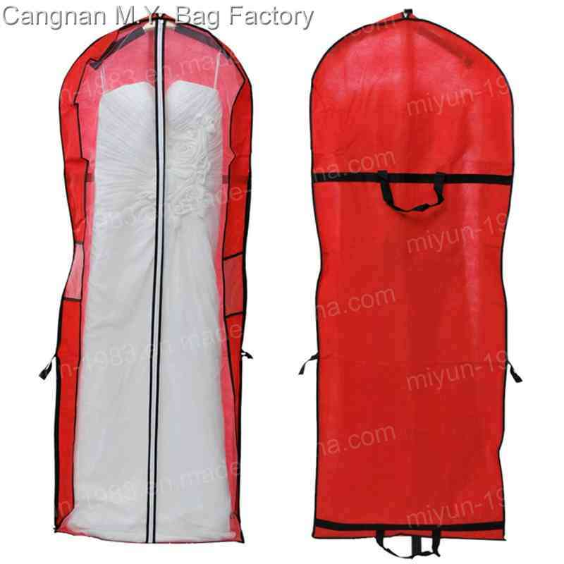 China 2016 Storage Wedding Dress Bag Cover Clothes Protector Case ...