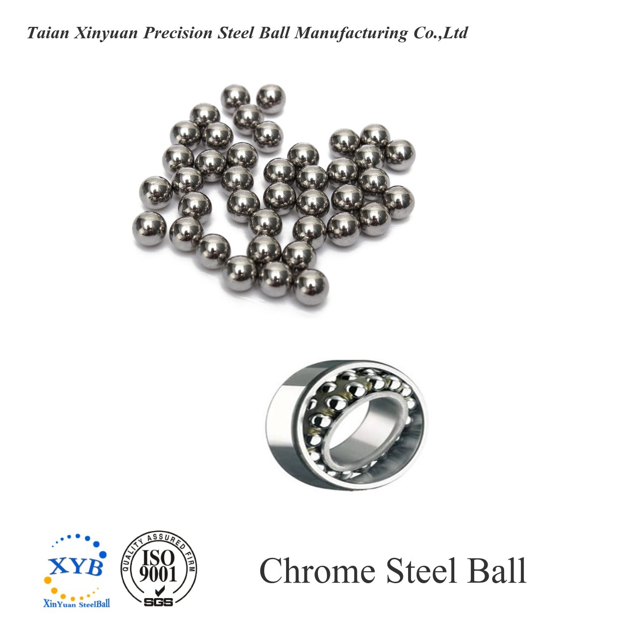 """100 Diameter Chrome Steel Bearing Balls 19//32/"""" G10 Ball Bearings 13815"""