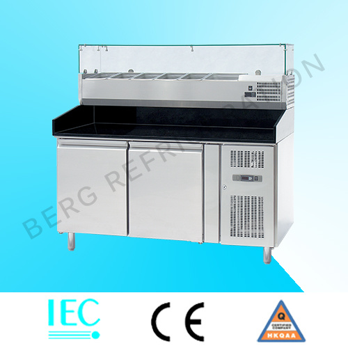 China Stainless Steel Commercial Sandwich Prep Table Counter Chiller - Commercial sandwich prep table