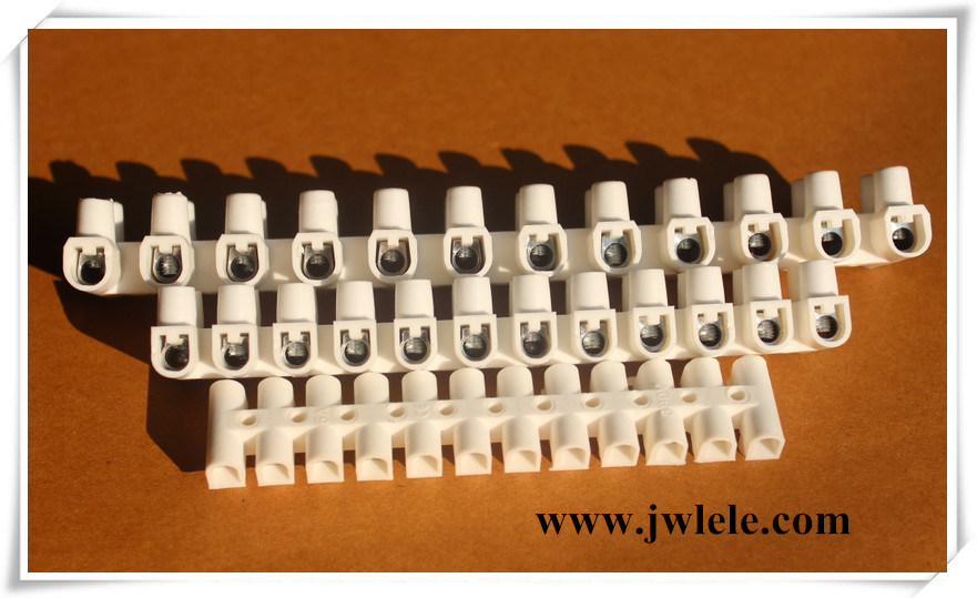 Plastic 12 Way Lighting Terminal Block From 3A to 150A