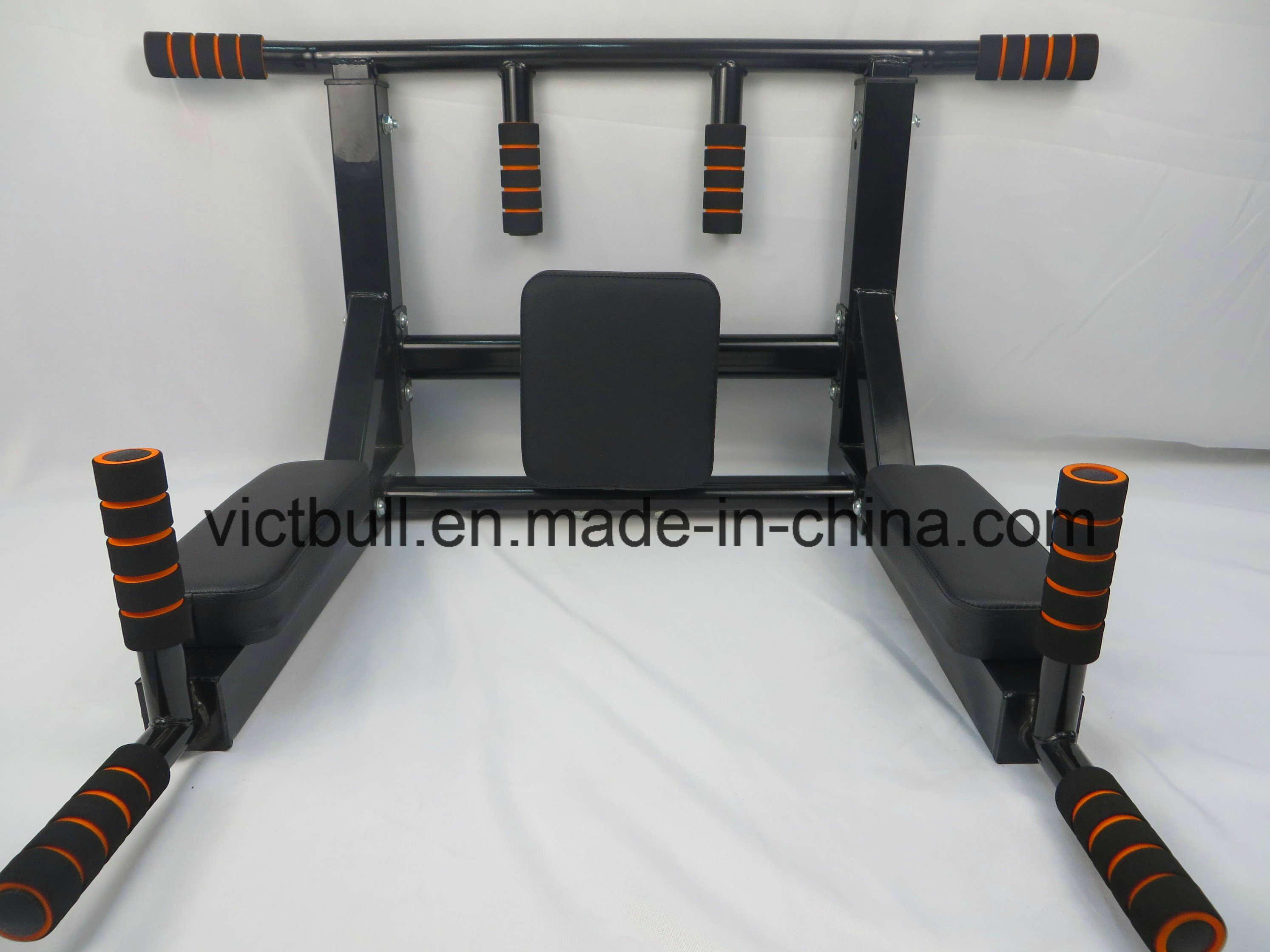 China Home Gym Equipment Wall Mounted Chin Up Bar Pull Up Bar