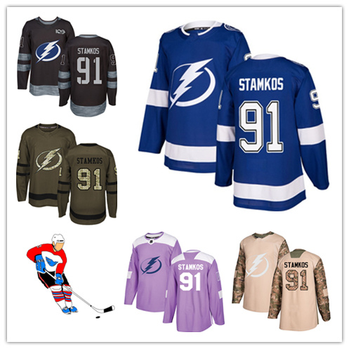 cheaper 5cfe2 ab5fb [Hot Item] Men Women Youth Lightning Jerseys 91 Steven Stamkos Hockey  Jerseys