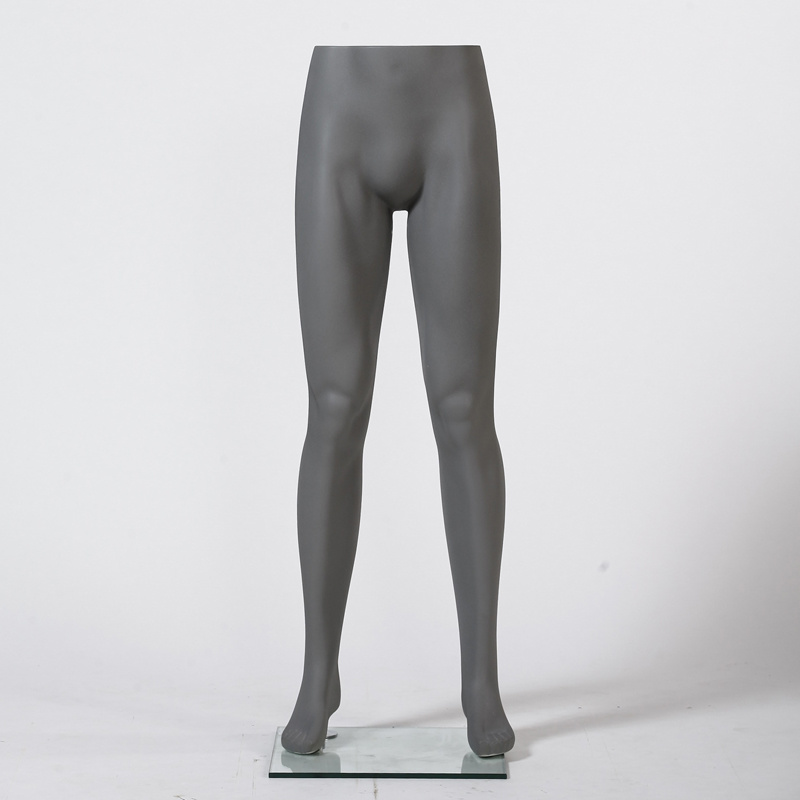 Dark Grey Male Pants Mannequin for Window Display