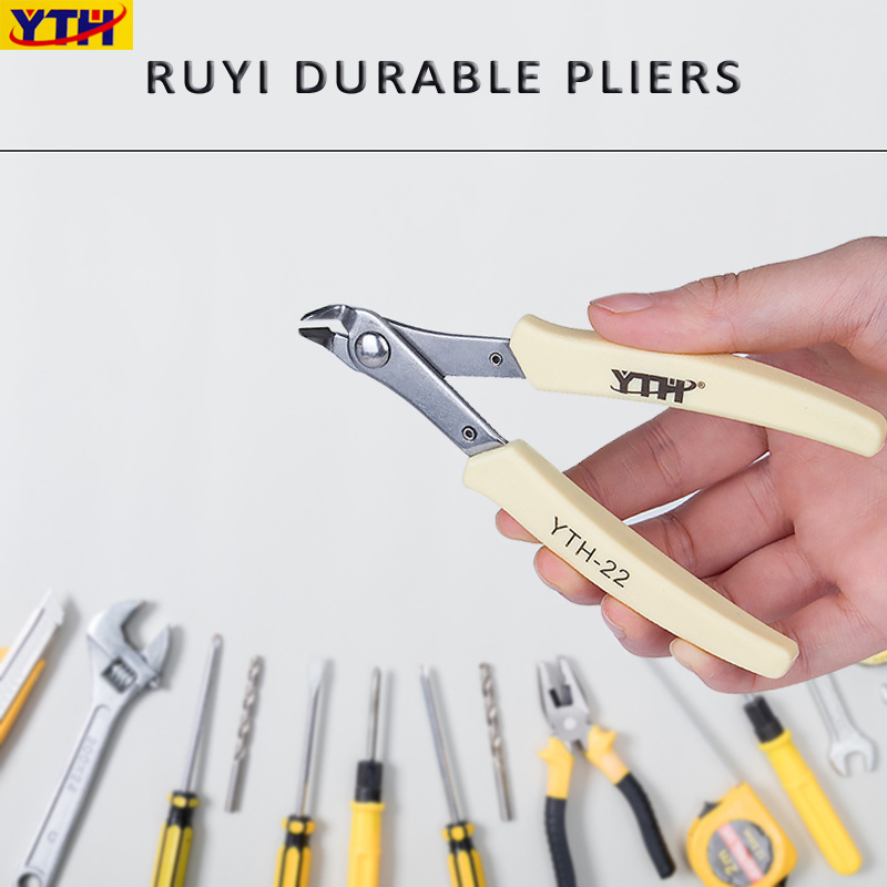 ^Electrical Cutting Plier Jewelry Wire Cable Cutter Side Snips Flush Pliers Tool