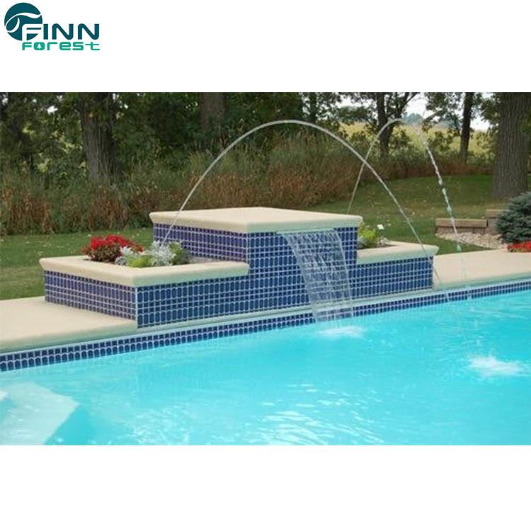 China Hotel Decorative Garden Pool Water Jumping Laminar Jet ...