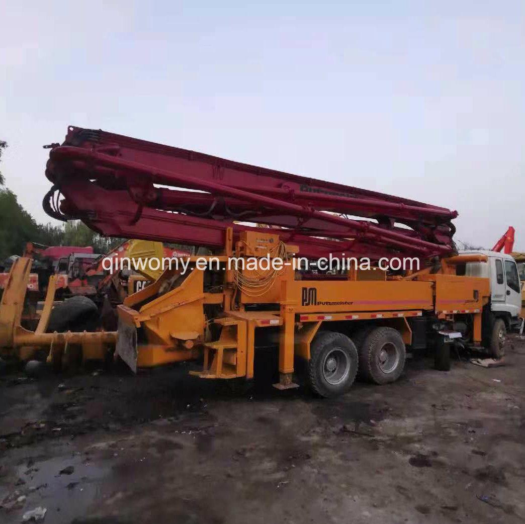 [Hot Item] 37m Hydraulic Remote Putzmeister Concrete Pump Truck