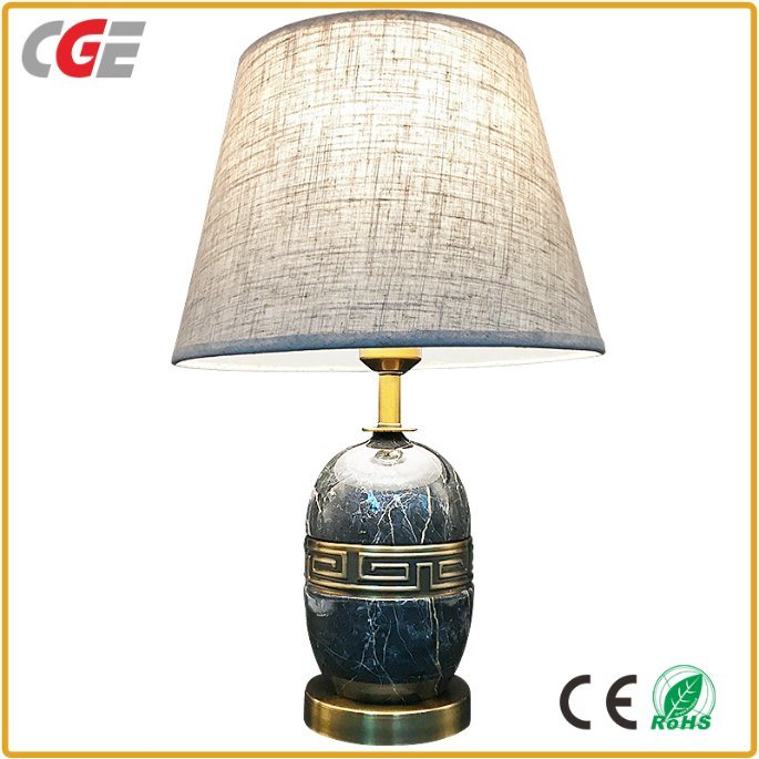 Hot Item Bedroom Lamps Cge Modern E27 Led Architectural Design Decorative Table Desk Lamp Home Office Hotel