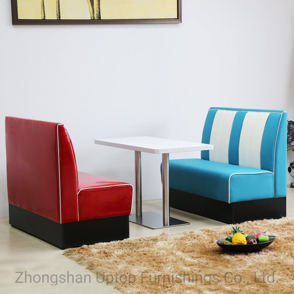 Stupendous Hot Item Sp Ct833 American Dinner Style Cafeteria Restaurant Leather Booth Seating Creativecarmelina Interior Chair Design Creativecarmelinacom