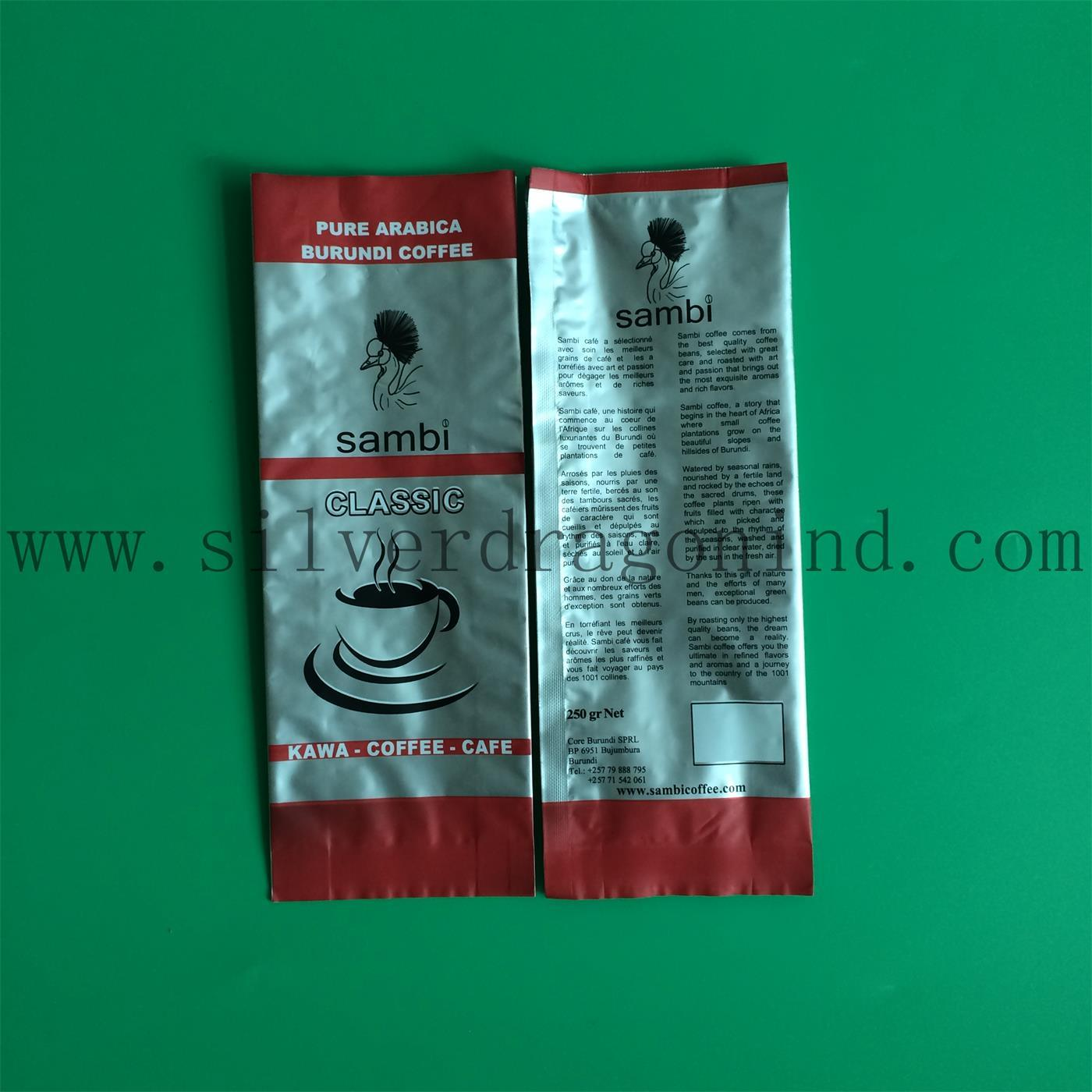 Logo Printing Coffee Bags for Coffee Powder Packaging