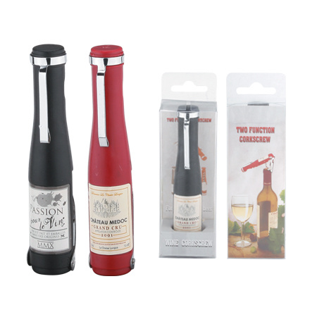 Two Functions Wine Corkscrew (600719) pictures & photos
