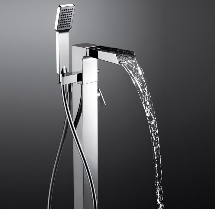 China Freestanding/Floor Mounted Open Spout Waterll Bath Shower ...