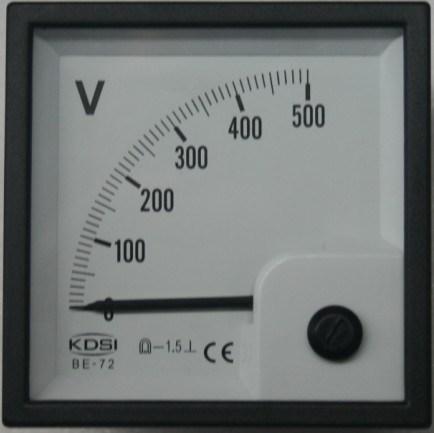 China Panel Meter Be 96 Be 72 Be 48 China Panel Meter Analog Panel Meter