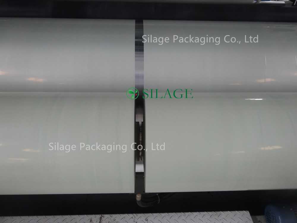 750mm*1500m*25um Celadon Green Color Blown Silage Wrap Film for High Speed Baler pictures & photos