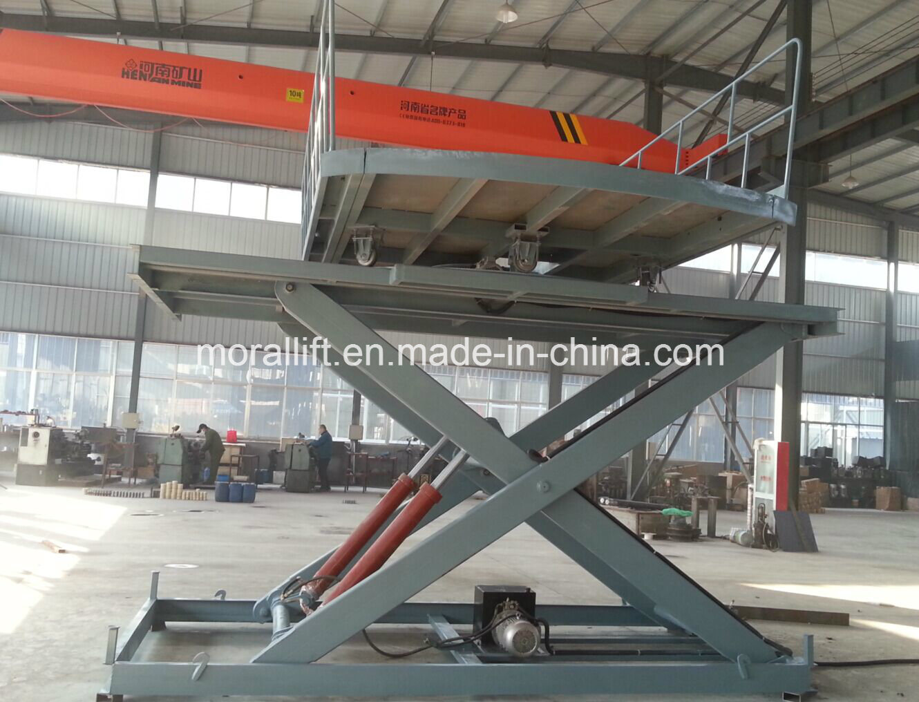 Portable Hydraulic Rotary Car Parking Lift pictures & photos