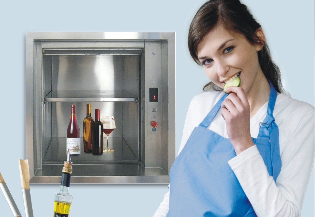 kitchen Elevator Dumbwaiter with Speed 0.4m/S pictures & photos