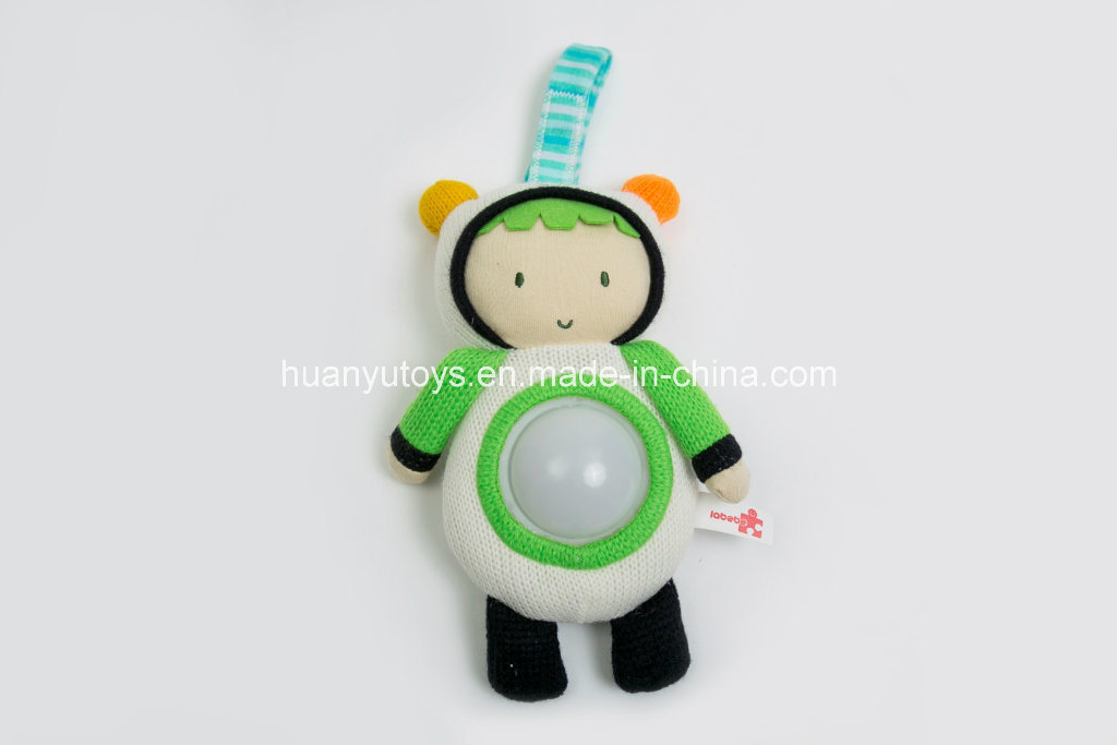 Factory Supply Knit Sweater Fabric Baby Light Toy pictures & photos