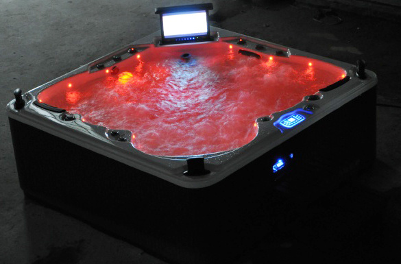 China Comfortbale Perfect Pool Spa With 19 Inches Tv Jcs Swimming