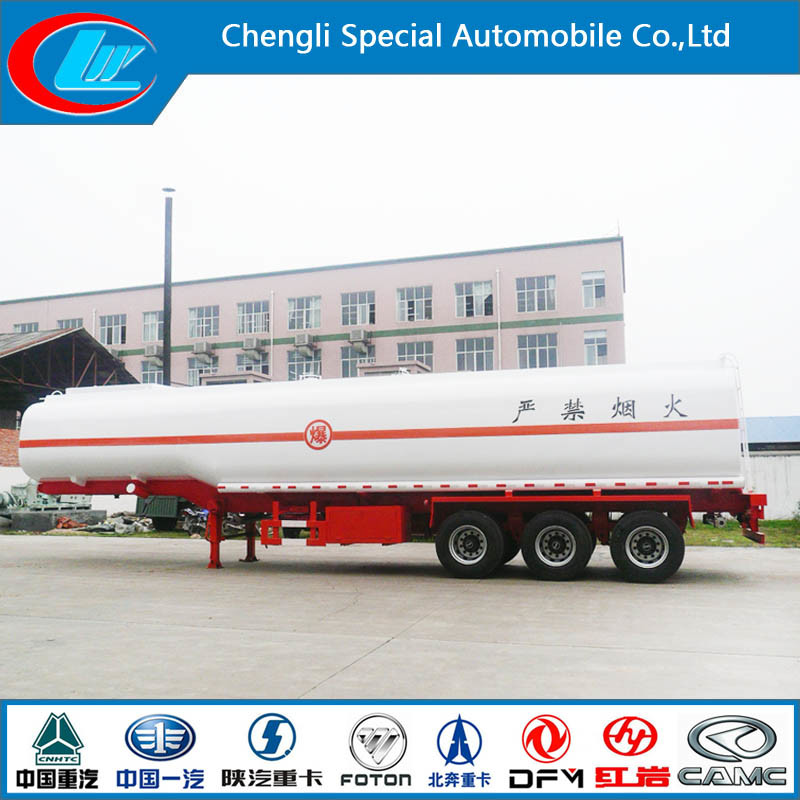Stainless Steel 30000-80000 Liters Fuel Tank Trailer, Oil Tanker Semi Trailer pictures & photos