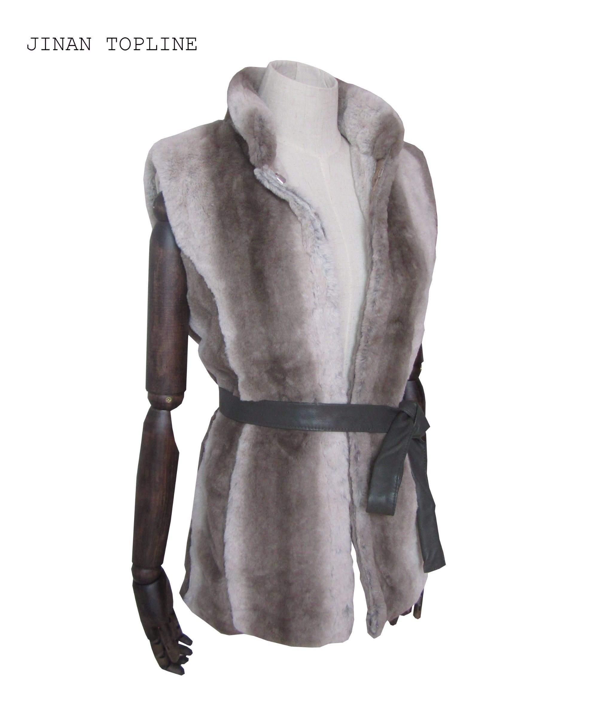 Women Fashion Fake Fur Faux Fur Winter Protection Vest