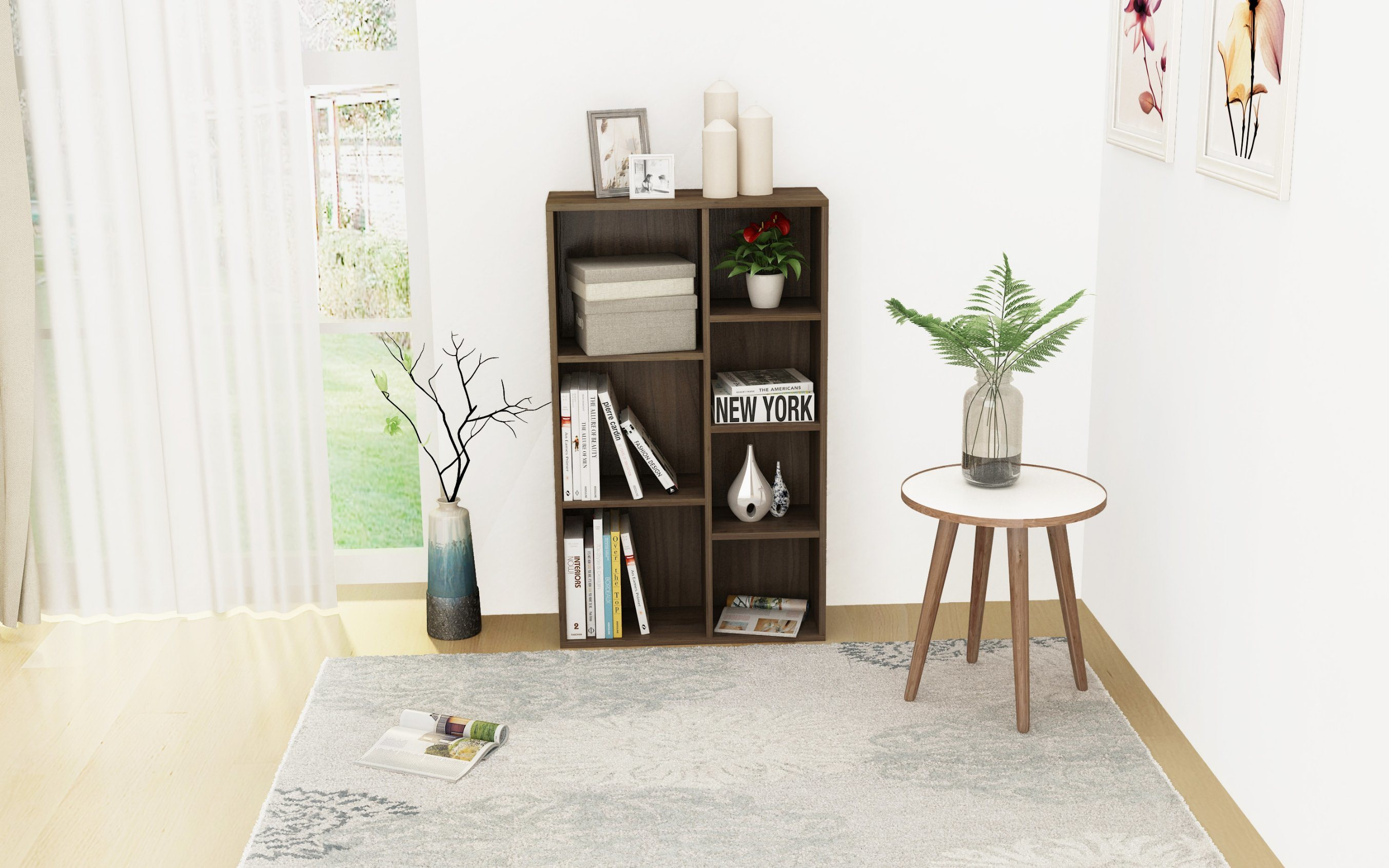 Bookcase Wooden For Sale Modern Bookshelf Furniture