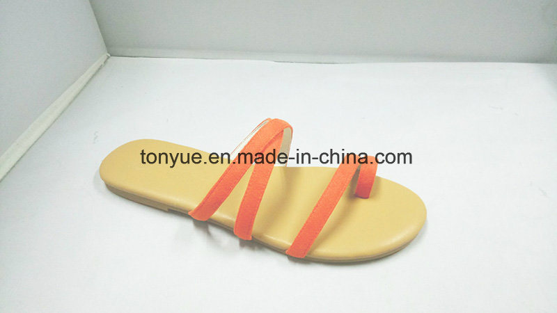 38cf881bf48078 China Women Shoes Suede PU Leather Shoes Simple Strap Leisure Beach Sandals  - China Women Shoes