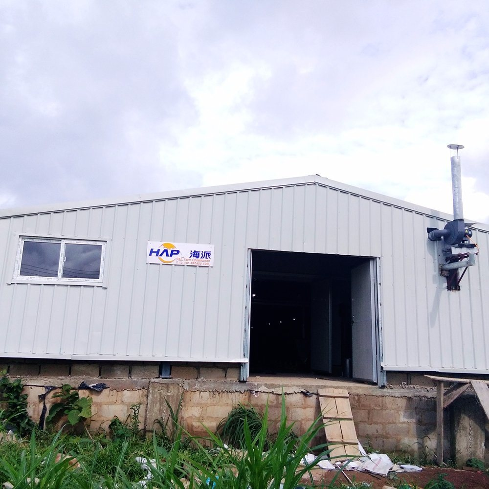 China environmental Control Broiler Poultry Farm Shed with Steel ...