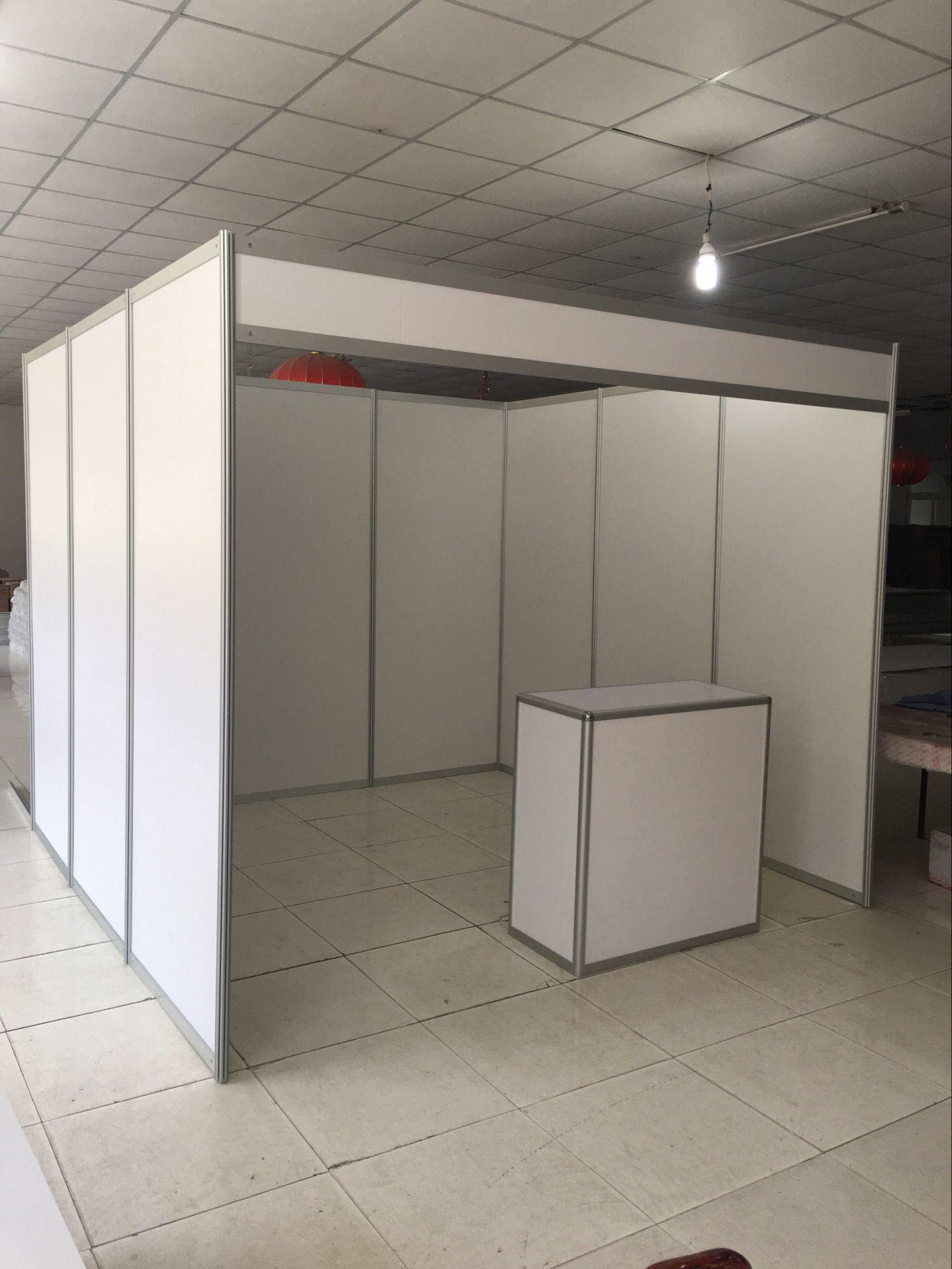 Modular Exhibition Stand Years : China standard 3x3 aluminum portable modular shell scheme exhibition