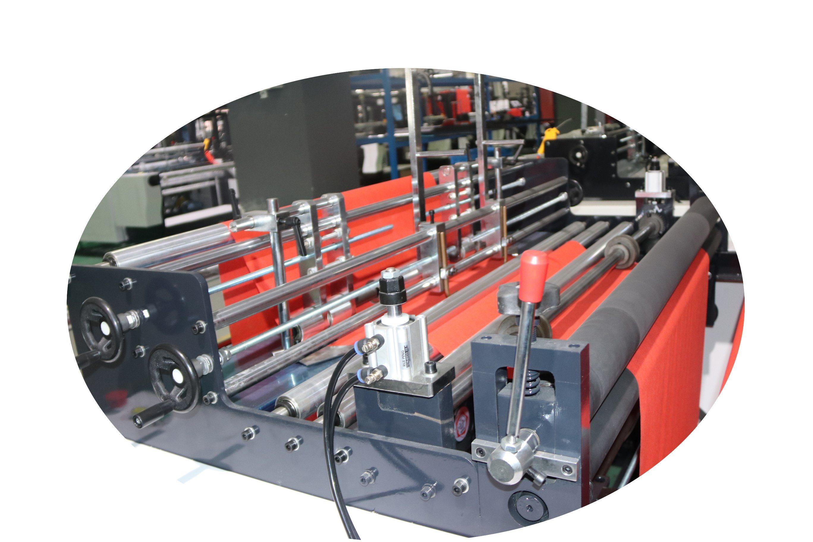 China Ultrasonic Welding Nonwoven Bag Making Machine High Quality Diagram