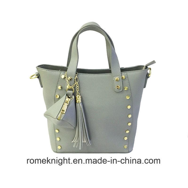 7a358c1899 China 2018 Lady Fashionable PU Leather Handbag Guangzhou Factory Fashion  Designer Handbag - China Handbag