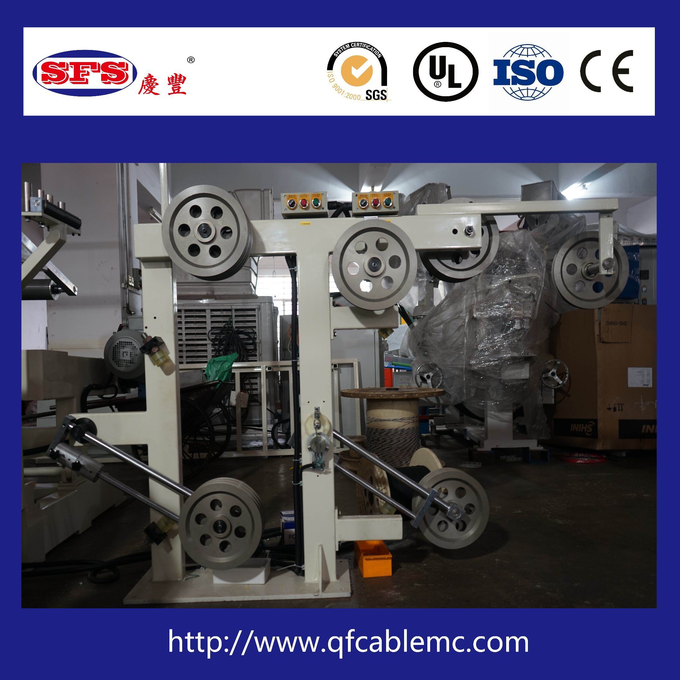China Teflon Wire Cable Extrusion Machine Line Production Line ...
