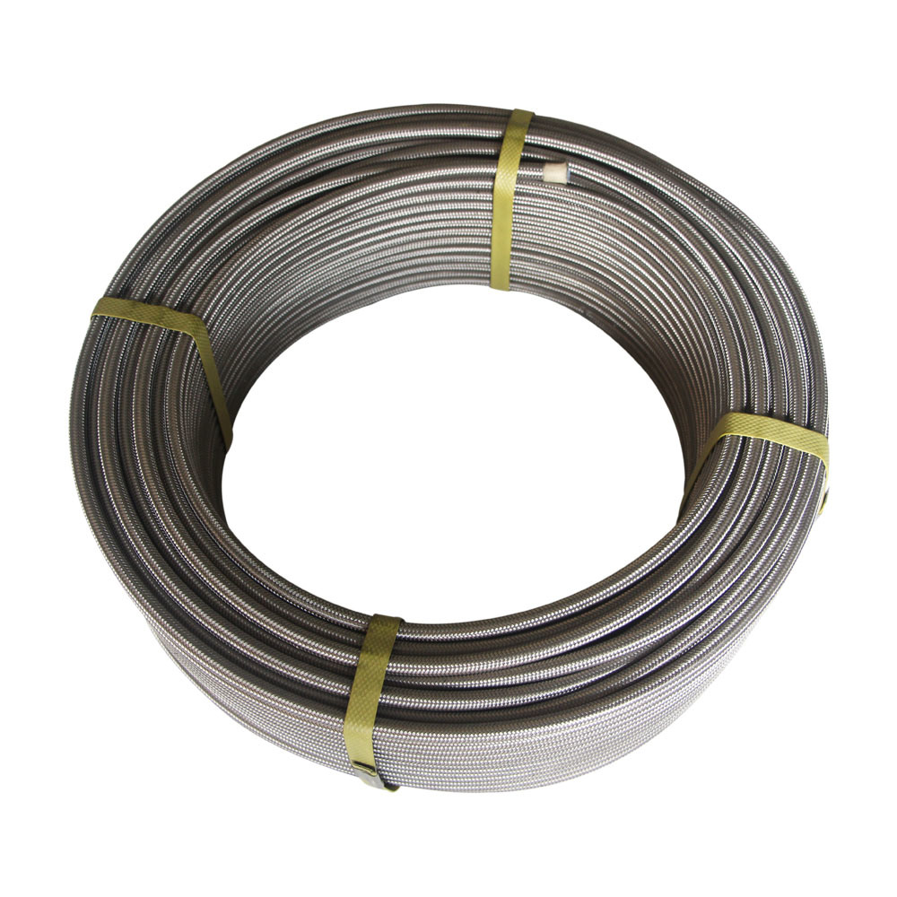 China Hot Sale Steel Wire Reinforced Spiral Braided Polyester Teflon ...