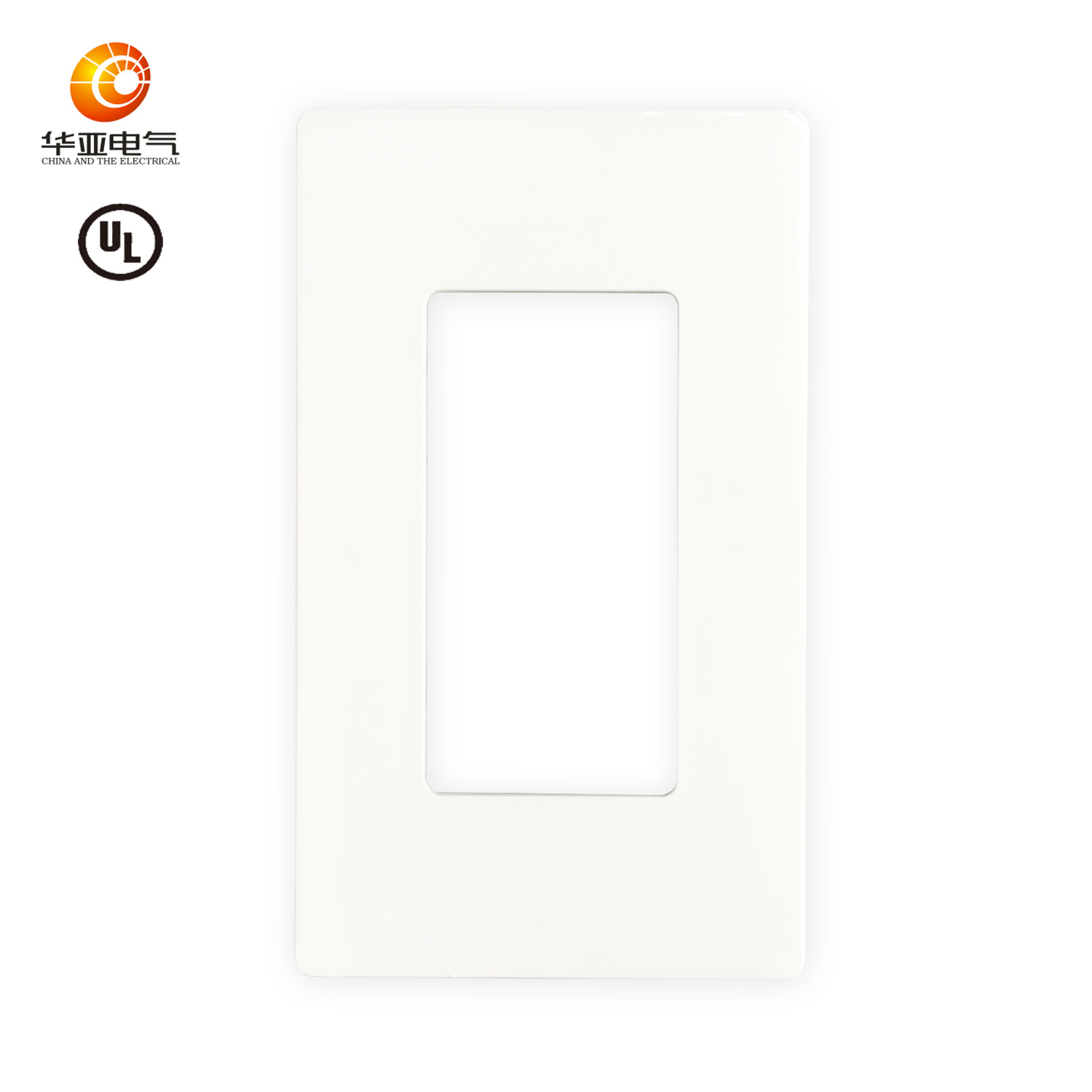 5x Plastic Faceplate Cover 1 Gang 1 Port Decora Style Cover FacePlate White
