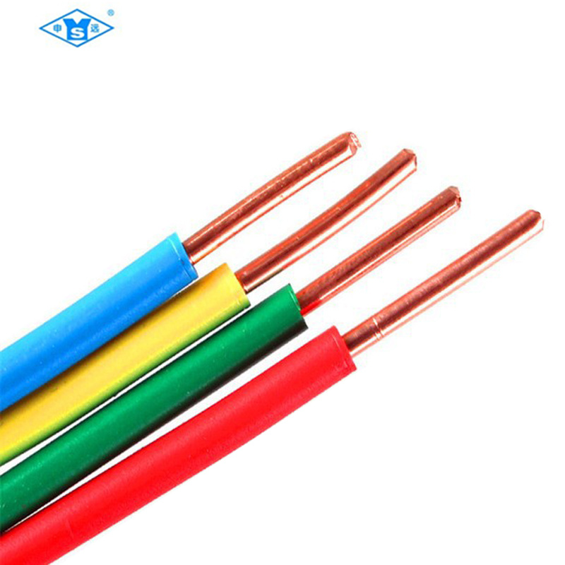 China 1.5mm 2.5 mm Electrical PVC House Wiring Electrical Wire ...