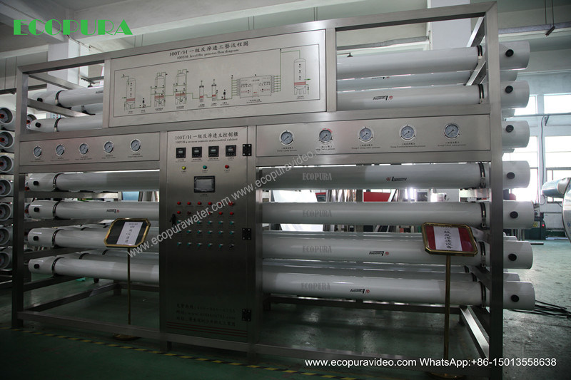 Reverse Osmosis Drinking Water Treatment Machine (RO System)