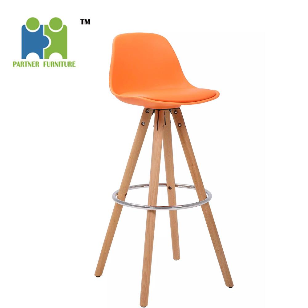 Tremendous China Scomb Natural Legs Wood Molded Plastic Bar Stool Machost Co Dining Chair Design Ideas Machostcouk